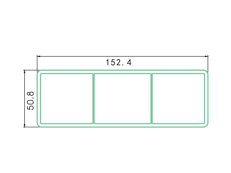 rail LAF-006-PVC Fence Profiles and accessories