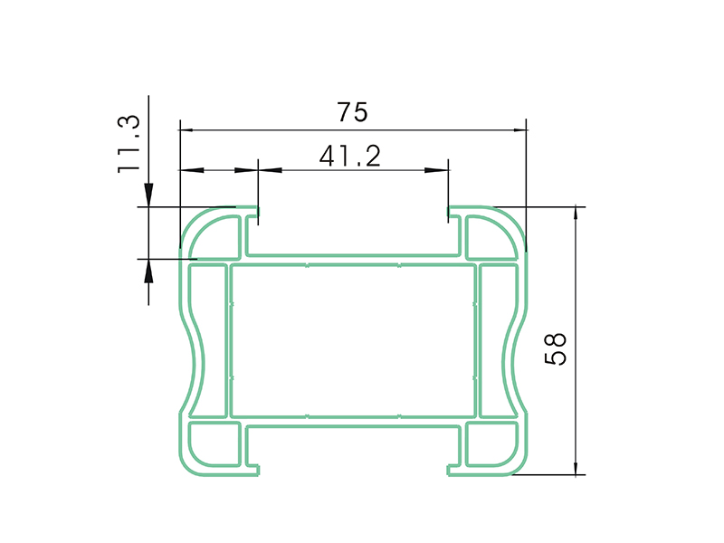 Arm AFS-PVC Fence Profiles and accessories