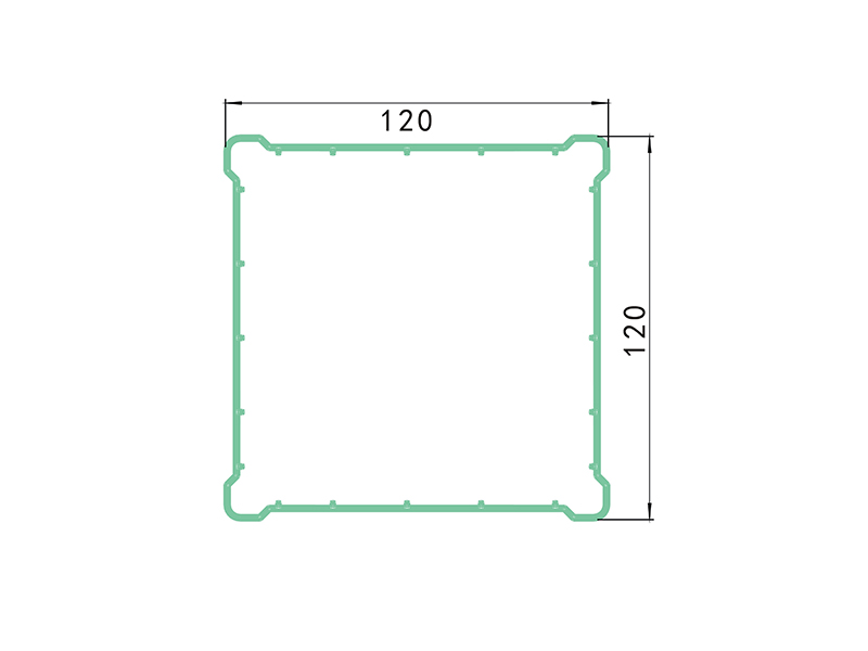 post 1 ALZ1-PVC Fence Profiles and accessories