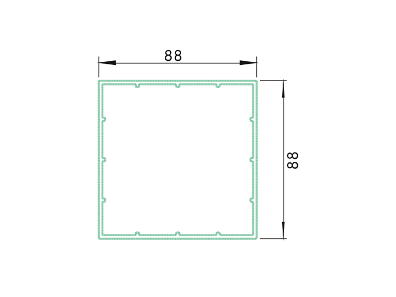 post 3 ALZ3-PVC Fence Profiles and accessories