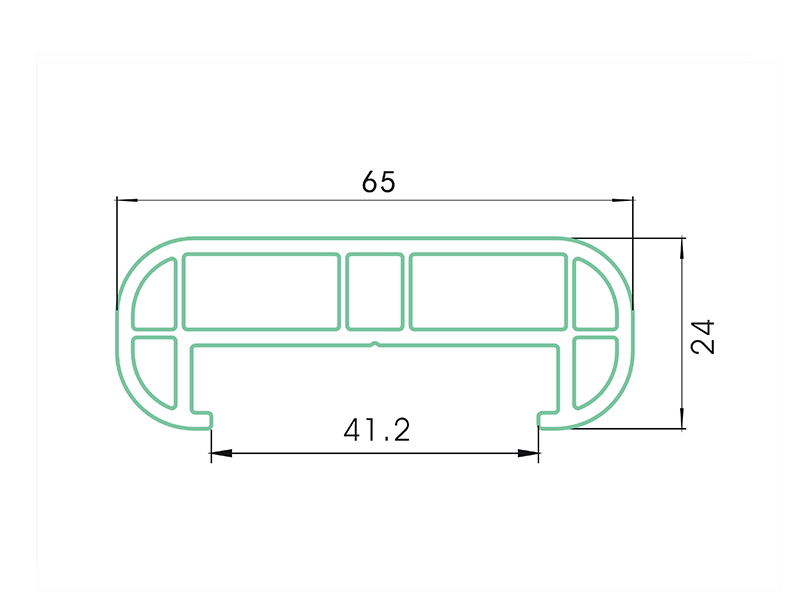 grate bar 2 AST2-PVC Fence Profiles and accessories