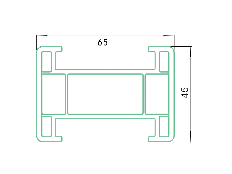 grate bar 4 AST4-PVC Fence Profiles and accessories