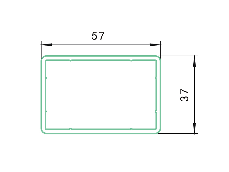 rail AHC-PVC Fence Profiles and accessories