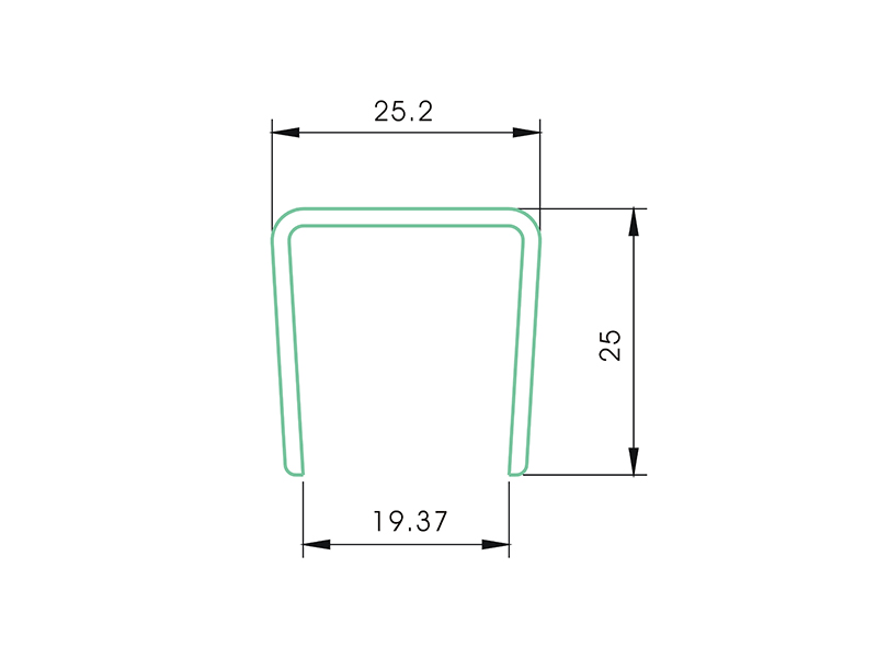 fastner LAF-001-PVC Fence Profiles and accessories