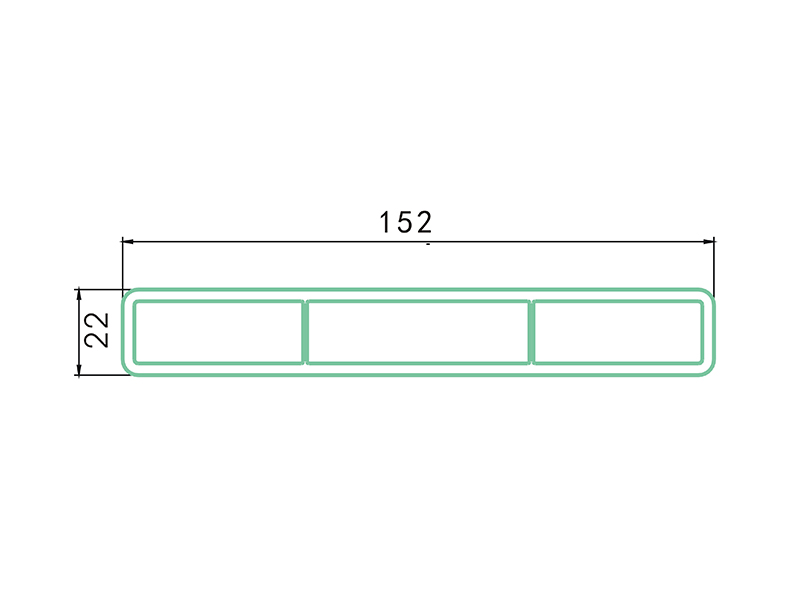 panel LAF-003-PVC Fence Profiles and accessories
