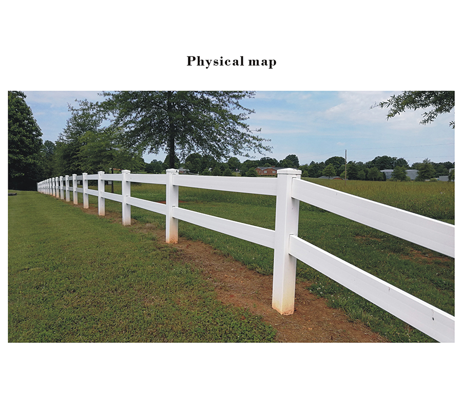 PVC guardrail features